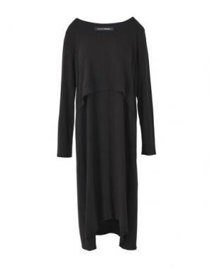 Платье до колена EUROPEAN CULTURE. Цвет: черный