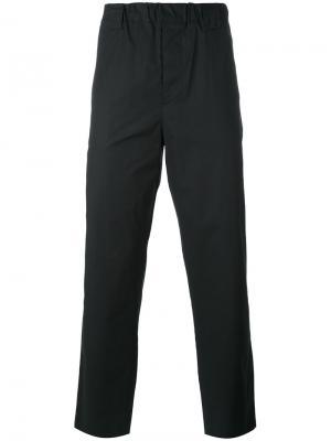 Прямые брюки Lucio Vanotti. Цвет: чёрный