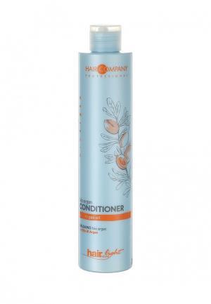 Бальзам для волос с био маслом Арганы Hair Company Professional. Цвет: голубой