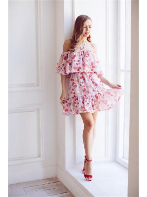 Платье мини на резинке Self Made