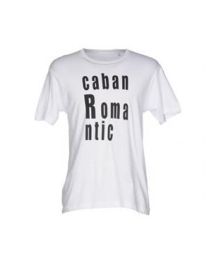 Футболка CABAN ROMANTIC. Цвет: белый