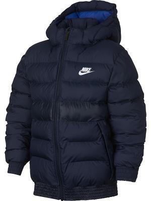 Куртка B NSW STADIUM JKT FA17 Nike. Цвет: синий