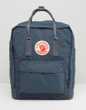 Fjallraven Темно-синий рюкзак Kanken 16L. Цвет: темно-синий