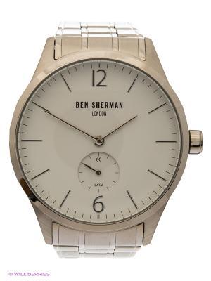 Часы Ben Sherman. Цвет: серебристый