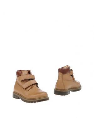 Полусапоги и высокие ботинки OCRA. Цвет: песочный