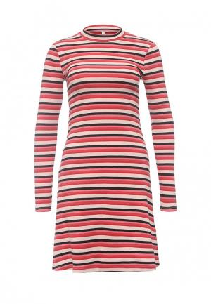 Платье Only. Цвет: красный