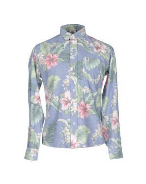 Pубашка FRANKLIN & MARSHALL. Цвет: темно-синий