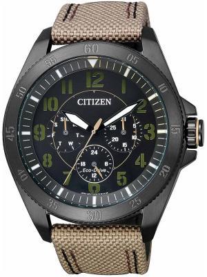 Часы BU2035-05E CITIZEN. Цвет: черный, светло-коричневый
