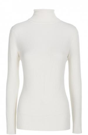 Шерстяная водолазка фактурной вязки Diane Von Furstenberg. Цвет: молочный