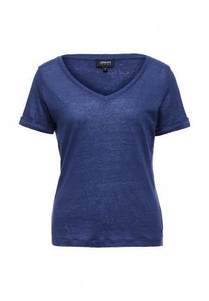 Футболка Armani Jeans. Цвет: синий