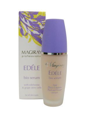 Серум для лица всех типов кожи EDELE Bio- serum Magiray Cosmetics. Цвет: розовый