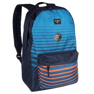 Рюкзак городской  All Day Stripes Billabong. Цвет: синий,голубой,оранжевый