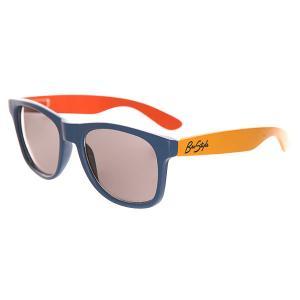 Очки  Sunnies Orange/Yellow/Blue Bro Style. Цвет: оранжевый,желтый,синий