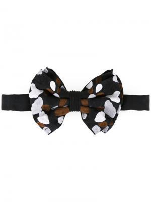 Printed bow tie Jupe By Jackie. Цвет: чёрный
