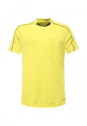 Футболка спортивная adidas Performance. Цвет: желтый