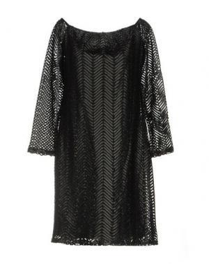 Короткое платье ALLURE. Цвет: черный