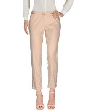 Повседневные брюки MONOCROM. Цвет: розовый