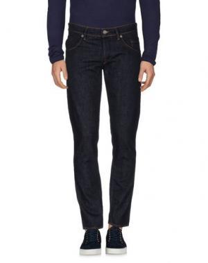 Джинсовые брюки SIVIGLIA DENIM. Цвет: синий