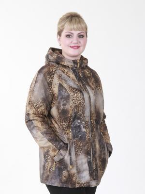 Куртка Мишель VIKO. Цвет: серый, темно-бежевый