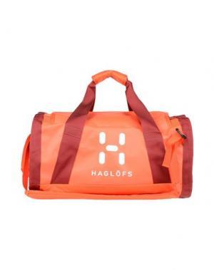 Дорожная сумка HAGLÖFS. Цвет: ржаво-коричневый