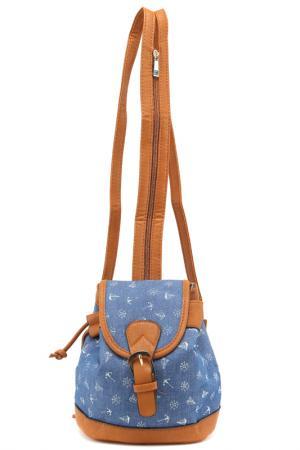 Рюкзак Rekotti. Цвет: коричневый, синий, белый