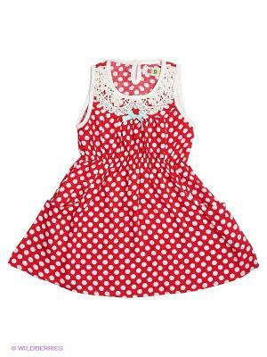 Платье Kidly. Цвет: красный