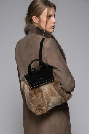 Сумка-рюкзак VESPUCCI BY VSP. Цвет: коричневый