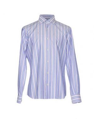 Pубашка CANTARELLI. Цвет: небесно-голубой