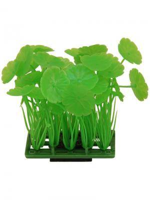 Растение для аквариума Коврик 6.8x4.3см. LAGUNA. Цвет: зеленый