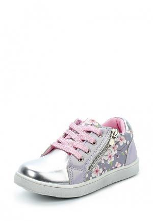 Ботинки Obba. Цвет: серебряный