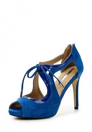 Босоножки Mariamare. Цвет: синий