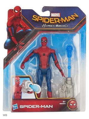 Фигурки паутинный город 15 см Spider-Man. Цвет: темно-синий, светло-серый, темно-красный