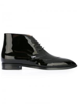 Ботинки на шнуровке Bionda Castana. Цвет: чёрный