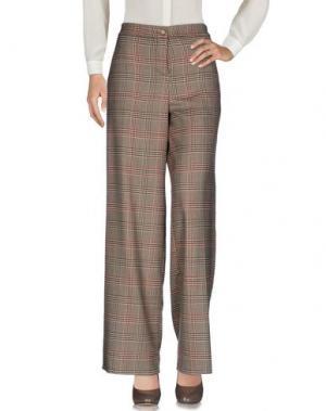 Повседневные брюки KATE. Цвет: песочный