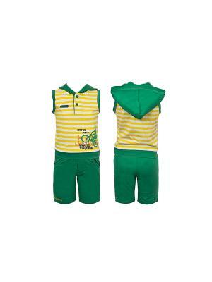Комплект одежды WWW. Цвет: желтый