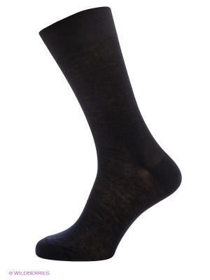Носки из хлопка POMPEA. Цвет: темно-синий