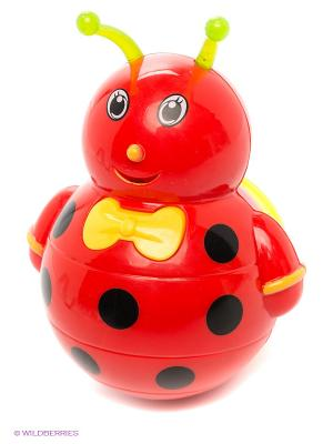 Неваляшка Малышка VELD-CO. Цвет: красный