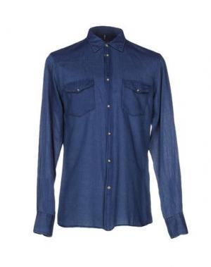 Джинсовая рубашка DONDUP. Цвет: синий