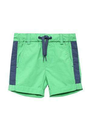 Шорты United Colors of Benetton. Цвет: зеленый
