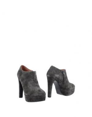 Ботинки BIBI LOU. Цвет: свинцово-серый
