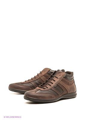 Ботинки Ralf Ringer. Цвет: темно-коричневый, коричневый