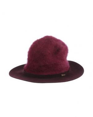Головной убор SUPER DUPER HATS. Цвет: пурпурный