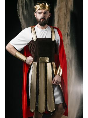 Костюм Римского Легионера La Mascarade. Цвет: белый, коричневый, красный
