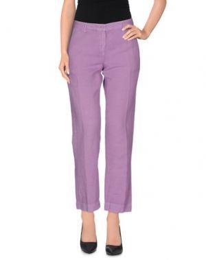 Повседневные брюки MASSIMO ALBA. Цвет: розовато-лиловый