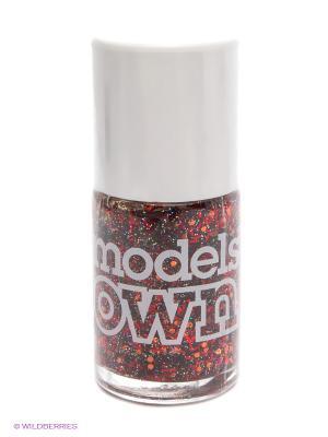 Лак для ногтей Nail Polish Rocket Models Own. Цвет: красный, оранжевый