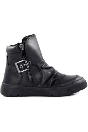 Ботинки Studio Italia. Цвет: black