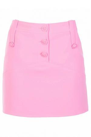 Юбка Versace. Цвет: розовый