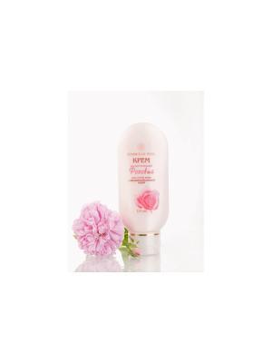 Крем косм. для сухой и нормальной кожи лица тела Розовый Крымская Роза. Цвет: белый