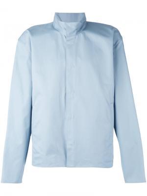 Спортивная куртка Miccia Jil Sander. Цвет: синий