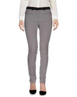 Повседневные брюки AXARA PARIS. Цвет: серый